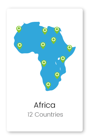 Graphic of Africa