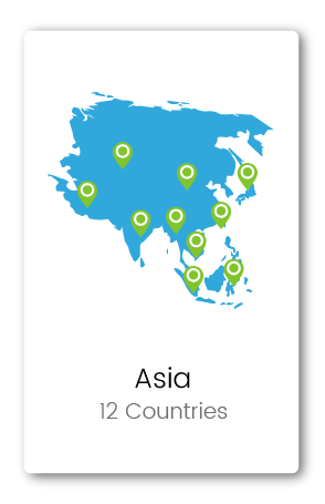 Graphic of Asia